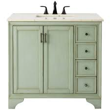 Antique Style Bathroom Vanity by Home Decorators Collection Hazelton 37 In W X 22 In D Bath
