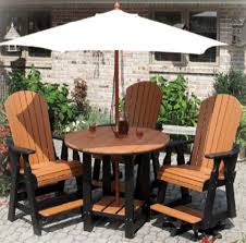 country garden outdoor poly u0026 wood furniture