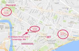 Harvard Yard Map 47 William Street Cambridge Ma