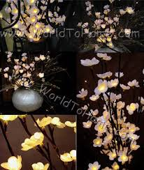 Branches With Lights Large 38in 96 Light White Plum Tree Branch Light Plum Tree Branch