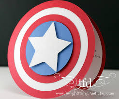 Superhero Invitation Card Captain America Invitations Or Perhaps Thank You Cards Cameo