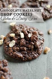 chocolate hazelnut drop cookies gluten free dairy free art