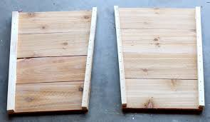 Cheap Tall Planters by How To Build A Diy Tapered Cedar Planter