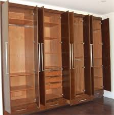 Wood Armoire Wardrobe Top 30 Of Solid Wood Fitted Wardrobes