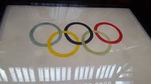 Olimpics Flag 1920 Olympic Flag First One With The 5 Rings Design Album On Imgur