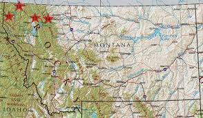 Montana State Map by Montana State Map Images Reverse Search