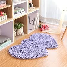 Lilac Runner Rug Hoomy Lilac Chenille Floor Rugs Shape Modern