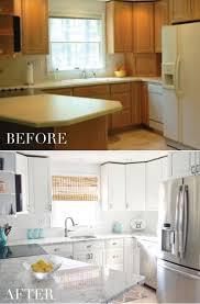 Refinish Kitchen Cabinets White Painting Cabinets White Chalk Paint Ideas For Kitchen Cabinets
