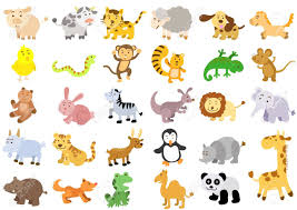 extra large set of animals file simple gradients no effects