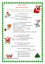 merry everyone song lessons