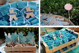 Centerpieces For Boy Baptism by Baby Boy Party Centerpiece Decorating Of Party