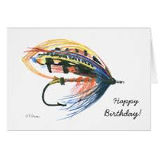 fly fishing greeting cards zazzle