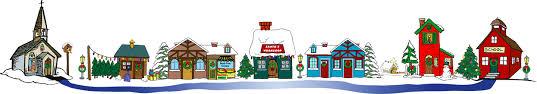 miniature lighted christmas village exhibit polk arts