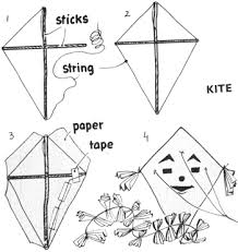 kite making instructions for kids how to make toy kites crafts