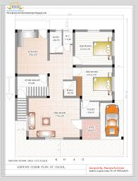home plan 3d 1500 sq ft duplex home plan 3d and house elevation 2017 picture