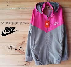 Jaket Nike Murah Bandung jual jaket parasut jaket nike nike parasut parasut murah pink silver