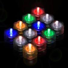 submersible led tea lights 12 light up tea lights led candles submersible waterproof wedding