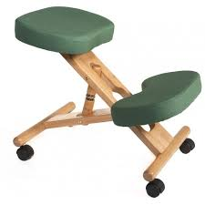 Jobri Kneeling Chair Wooden Kneeling Chair In Green Kneeling Chairs Pinterest