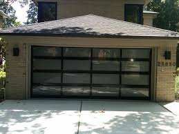 Glass Overhead Garage Doors New Install 16 X 7 C H I Garage Door Model 3295 With