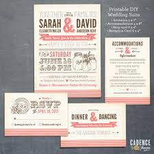 make your own standard wedding invitation size free templates more