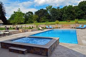 Inground Pool Patio Designs Far Hills Nj Inground Swimming Pool Awarded For Design
