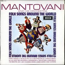 mantovani folk songs around the world uk vinyl lp album lp record