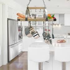 Light Kitchen Lighted Hanging Pot Racks You U0027ll Love Wayfair