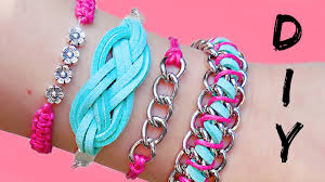 diy friendship bracelets 4 easy stackable arm candy projects