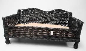 wicker dog beds with legs u2014 harte design a classic wicker dog bed