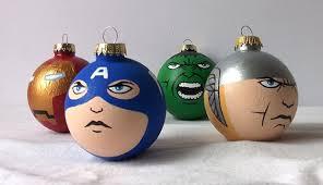 captain america thor iron ornament