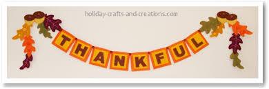 thanksgiving crafts to make felt garland