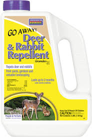 Rabbit Repellent For Gardens by Go Away Deer U0026 Rabbit Repellent Granules Bonide