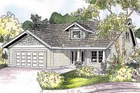 Home Plans Craftsman Narrow Lot Plans Houseplans Com Luxihome