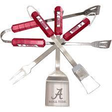 Alabama Crimson Tide Home Decor by Bsi Products Ncaa Alabama Crimson Tide 4 Piece Grill Tool Set