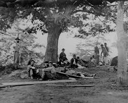 spirit halloween fredericksburg va wounded soldiers being tended in the field after the battle of