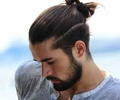length hair neededfor samuraihair undercut with bun hairstyles for men middle length d s hair