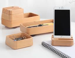 office desk organizer set wood office desk organizer set phone stand pencil holder