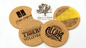 cork coasters how to laser engrave cork coasters