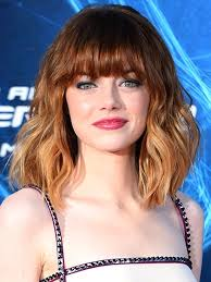 lob haircut with bangs 7 easy ways to style midlength hair allure
