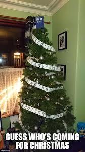 Christmas Tree Meme - doctor who christmas tree imgflip