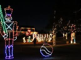 christmas lights train ride dec 6 theme park open featuring christmas festival of lights