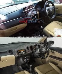 Honda Brio Smt Interior Honda Amaze Facelift Vs Current Honda Amaze Old Vs New