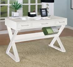 amazon com u2013 home office desk with triangular legs in white finish