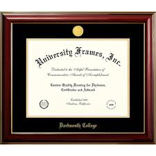 college diploma frame dartmouth college classic diploma frame dartmouth college
