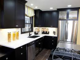 Black Cabinets Kitchen Black Kitchen Cabinets Pictures Options Tips Ideas Hgtv