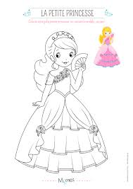 coloriage de chambre de fille luxe coloriage fille avec modele princesse