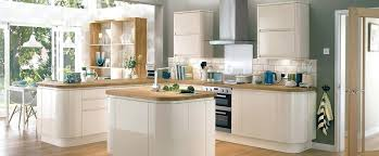 meuble cuisine arrondi meuble cuisine sans poignee conceptkicker co