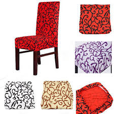 Dining Room Chair Covers Brown Dining Room Chair Covers Promotion Shop For Promotional