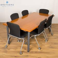 Office Furniture Table Meeting A Wide Selection Of Used Meeting Tables Brothers Office Furniture