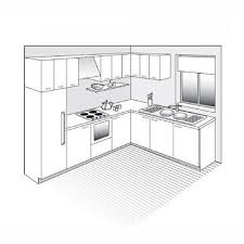 plan de cuisine en l plan de cuisine les différents types kitchens kitchen design